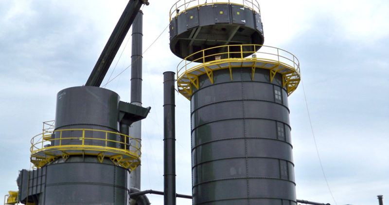 Industrial storage silos