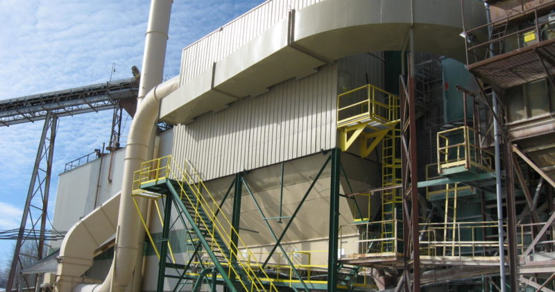 Filter type square dust collectors